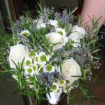 bouquet con erbe aromatiche