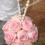 borsetta di rose e perle